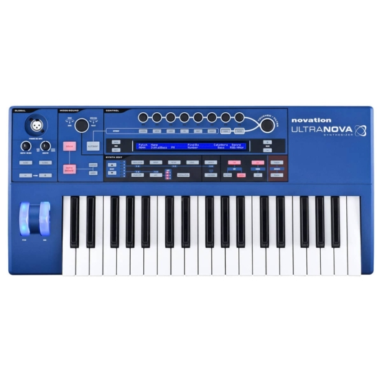 Novation Ultranova 01 555x555 Sintetizzatori e Drum Machine, Sintetizzatori e Tastiere, Synth a tastiera