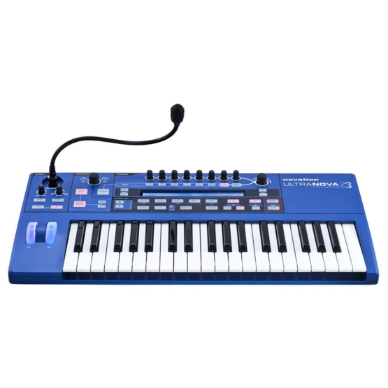 Novation Ultranova 04 555x555 Sintetizzatori e Drum Machine, Sintetizzatori e Tastiere, Synth a tastiera