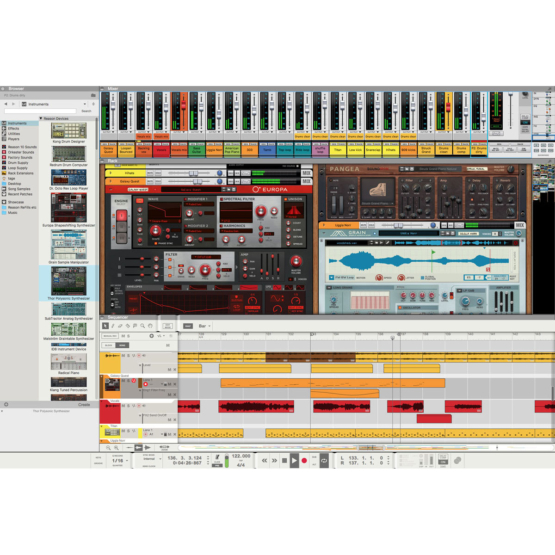 Propellerhead Reason 10 01 555x555 Pro Audio, Software, DAW