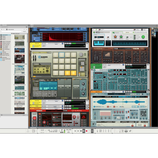 Propellerhead Reason 10 02 555x555 Pro Audio, Software, DAW