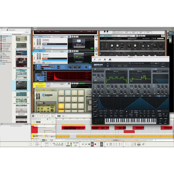 Propellerhead Reason 10 04 555x555 Pro Audio, Software, DAW