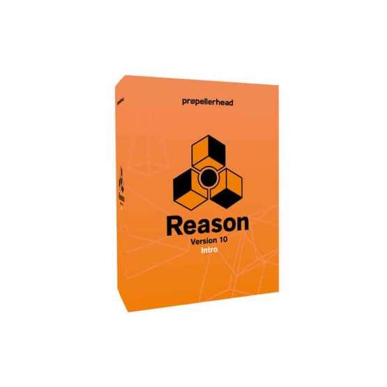 Propellerhead Reason 10 Intro 00 555x555 Strumentazioni Pro Audio per studi di registrazione, Software audio, DAW Digital Audio Workstation