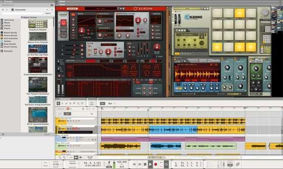 Propellerhead Reason 10 Intro 01 555x332 Strumentazioni Pro Audio per studi di registrazione, Software audio, DAW Digital Audio Workstation