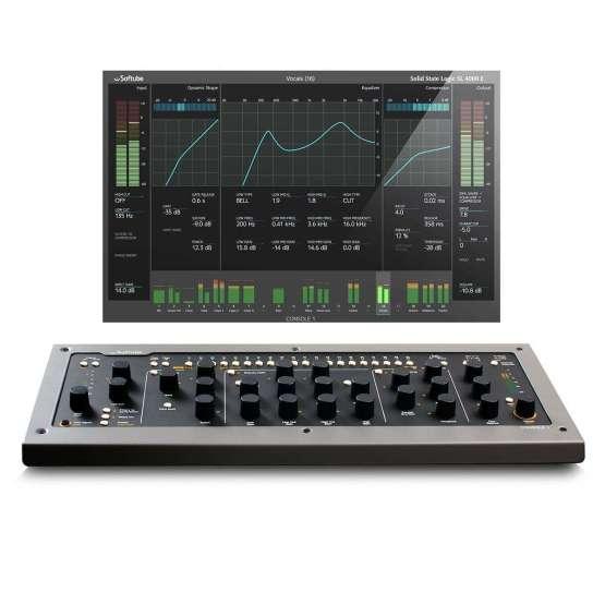 Softube Console1 Mk2 07 555x555 Accessori per il tuo Audio Professionale, Plug ins Audio Pro, Remote Controller, Software audio, Strumentazioni Pro Audio per studi di registrazione