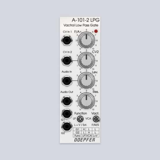 Softube Doepfer A 101 2 Vactrol LPG 01 555x555 Pro Audio, Software, Strumenti Virtuali