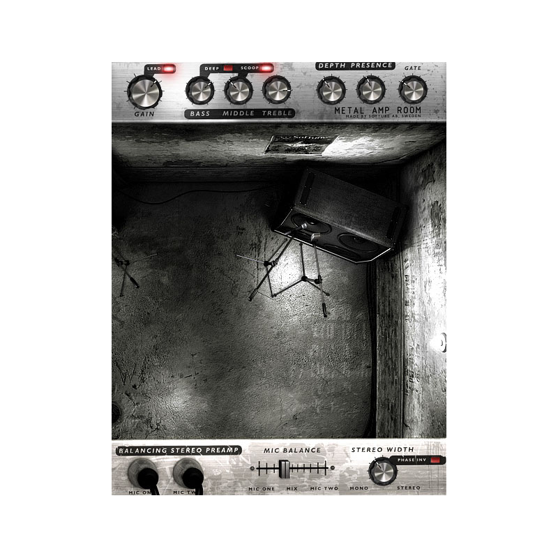 Softube Metal Amp Room | Disponibile su Milk Audio Store  com