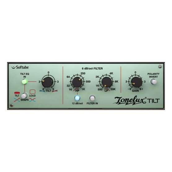 Softube Tonelux Tilt 01 555x555 Plug ins, Pro Audio, Software