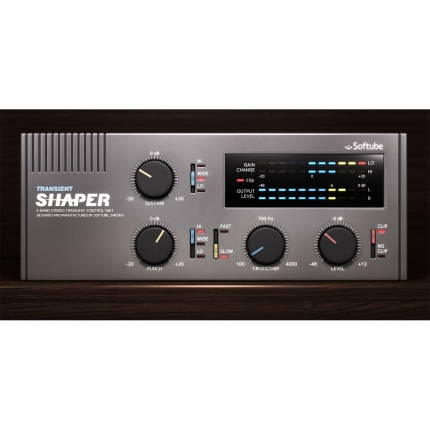 Softube Transient Shaper 05 430x430 Plug ins, Pro Audio, Software