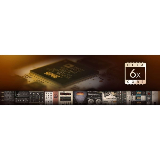 Universal Audio Apollo X6 04 555x555 Pro Audio, Audio Digitale Convertitori e Schede Audio, Schede Audio per PC e MAC