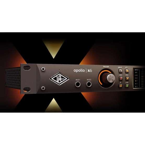 Universal Audio Apollo X6 05 555x555 Pro Audio, Audio Digitale Convertitori e Schede Audio, Schede Audio per PC e MAC