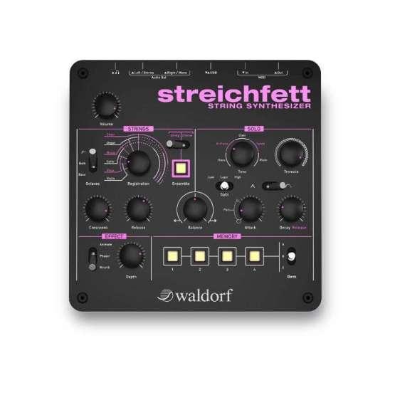 Waldorf Streichfett 01 555x555 Sintetizzatori e Drum Machine, Synth Desktop