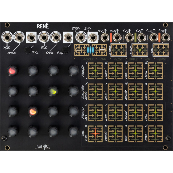 Make Noise Rene Mk2 555x555 Moduli Eurorack e accessori, Sequencer