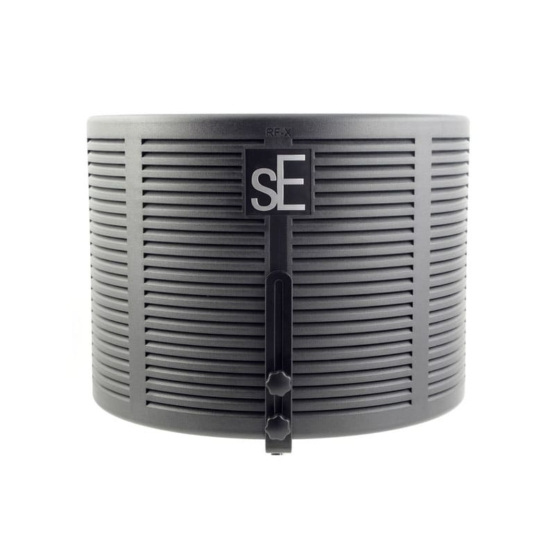 SE Electronics RF X front view 555x555 Accessori per il tuo Audio Professionale, Accessori per microfono, Strumentazioni Pro Audio per studi di registrazione