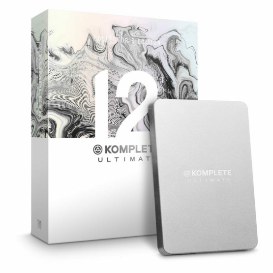 Native Instruments Komplete 12 Collectors Edition 555x555 Software audio, Strumentazioni Pro Audio per studi di registrazione, Strumenti Virtuali