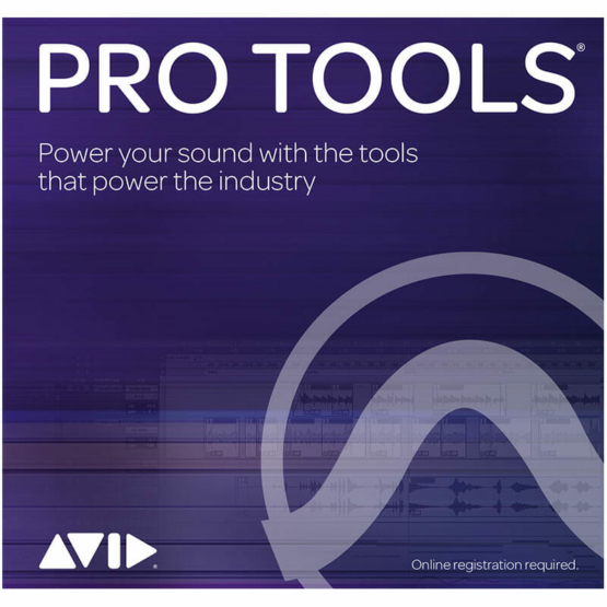 AVID Pro Tools educational 555x555 Strumentazioni Pro Audio per studi di registrazione, Software audio, DAW Digital Audio Workstation