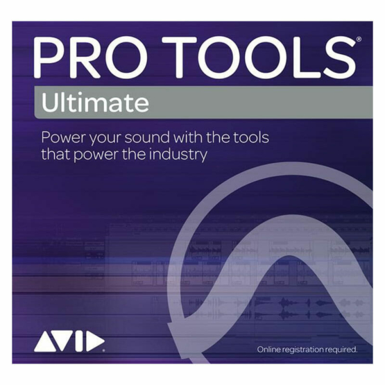 Avid Pro Tools Ultimate Perpetual License Educational 555x555 Pro Audio, Software, DAW