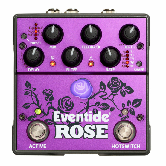 Eventide Rose top view 555x555 Pedali Stompbox
