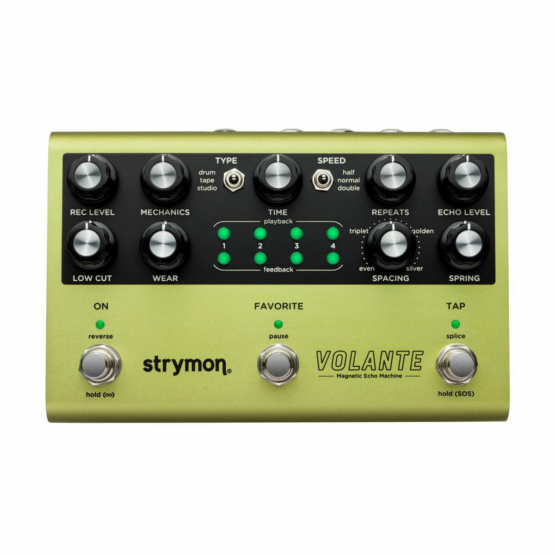 Strymon Volante top view 555x555 Pedali Stompbox