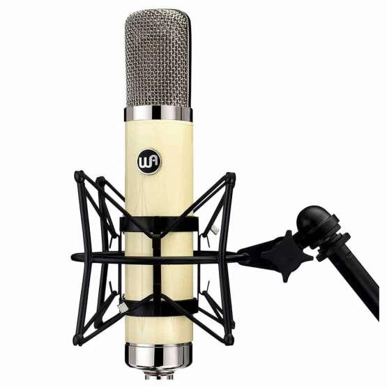Warm Audio WA 251 shock mount view 555x555 Microfoni a Condensatore, Microfoni professionali, Strumentazioni Pro Audio per studi di registrazione