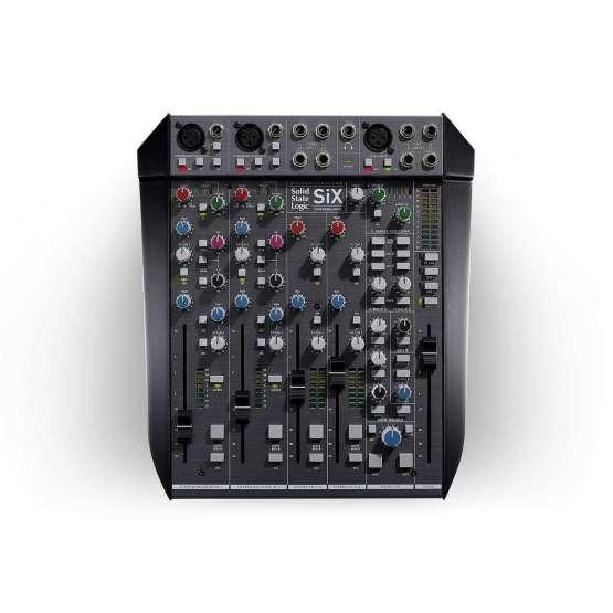 Solid State Logic SiX 555x555 Strumentazioni Pro Audio per studi di registrazione, Sommatori e Mixer professionali