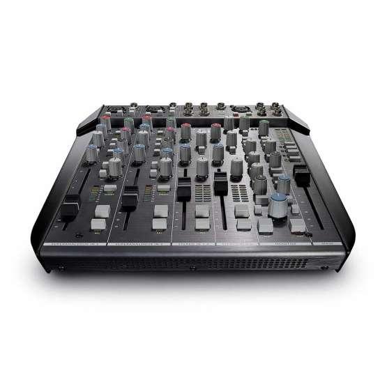 Solid State Logic SiX front view 555x555 Strumentazioni Pro Audio per studi di registrazione, Sommatori e Mixer professionali