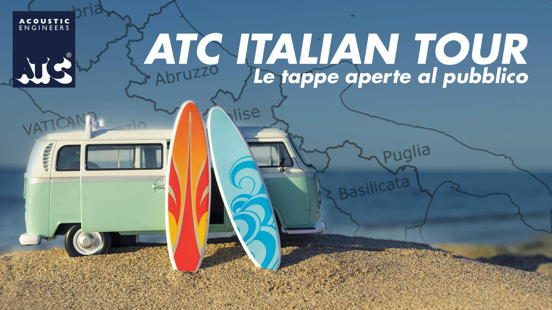 ATC Italian Tour Date Luglio