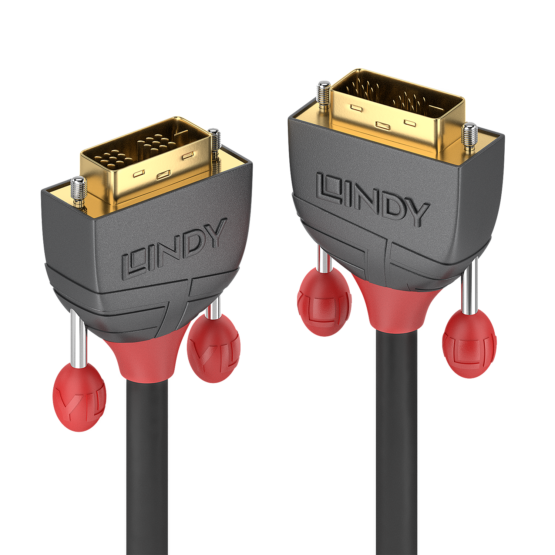 36241 1 555x555 Lindy 15m DVI D SLD Single Link Cable Anthra Line