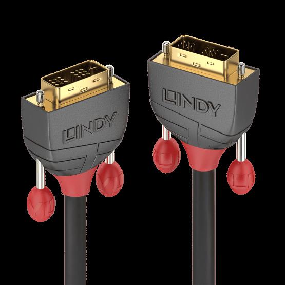 36243 1 555x555 Lindy Cavo DVI D SLD Single Link Anthra Line 25m