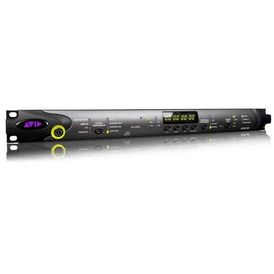 Avid SYNC HD angle view 555x555 AVID Sync HD I/O