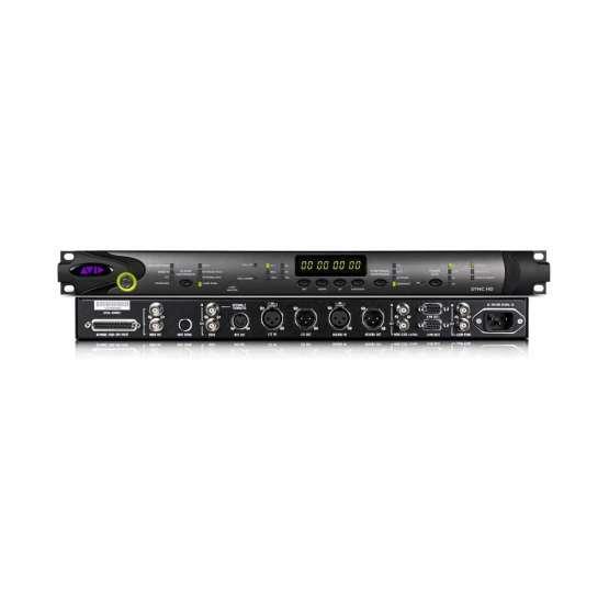 Avid SYNC HD front back view 555x555 AVID Sync HD I/O