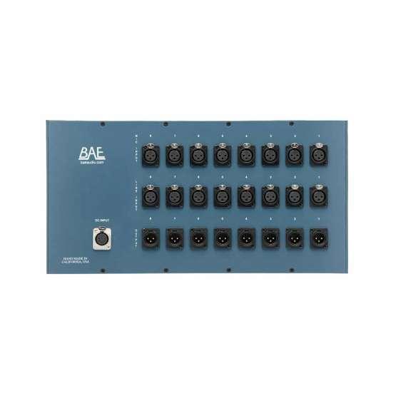BAE 8CR fully loaded back 555x555 BAE 8CR 8 Channel Rack