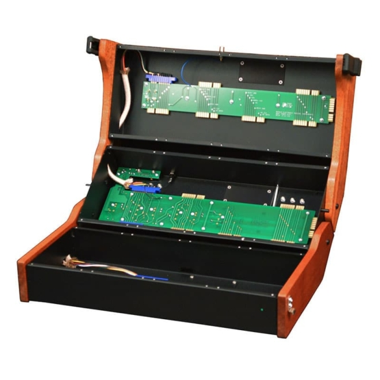 Buchla 201e 12 Panel Powered Cabinet 555x555 Buchla 201e 12 Panel Powered Cabinet