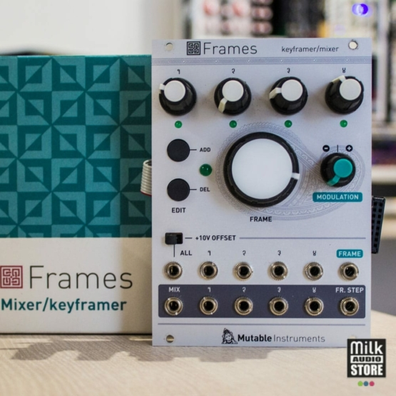 Mutable Instruments Frames usato 555x555 Mutable Instruments Frames (used)