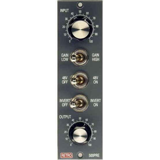Retro Instruments 500PRE front view 555x555 Retro Instruments 500PRE