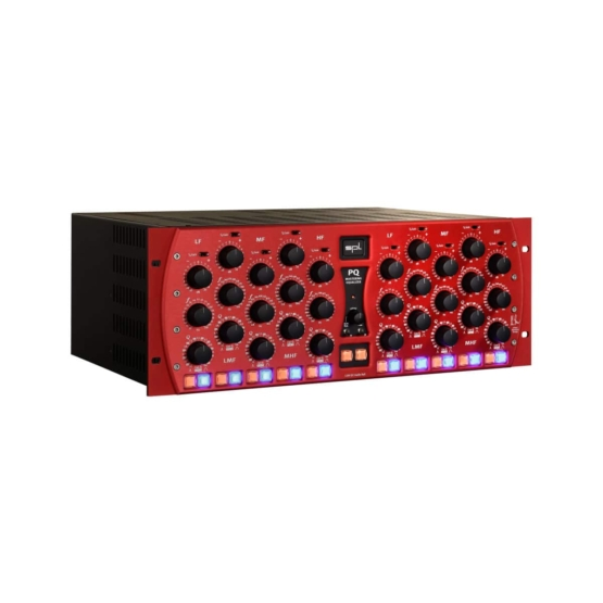 SPL PQ Red angle view 555x555 SPL PQ Mastering Equalizer (Red)