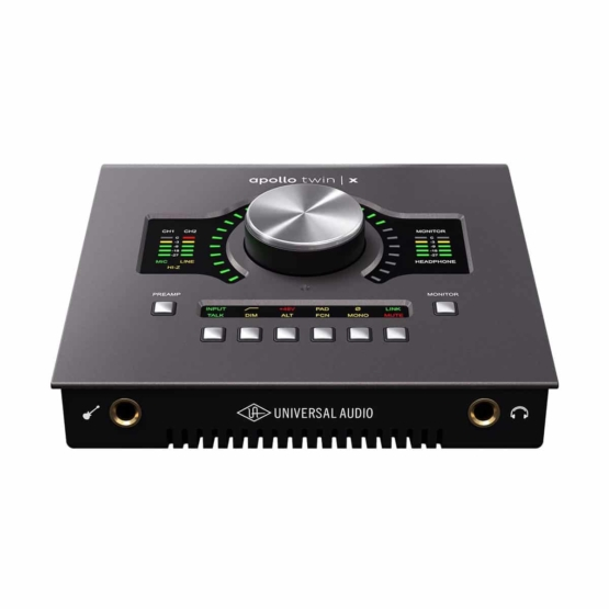 Universal Audio Apollo Twin X Duo front view 555x555 Universal Audio Apollo Twin X Duo