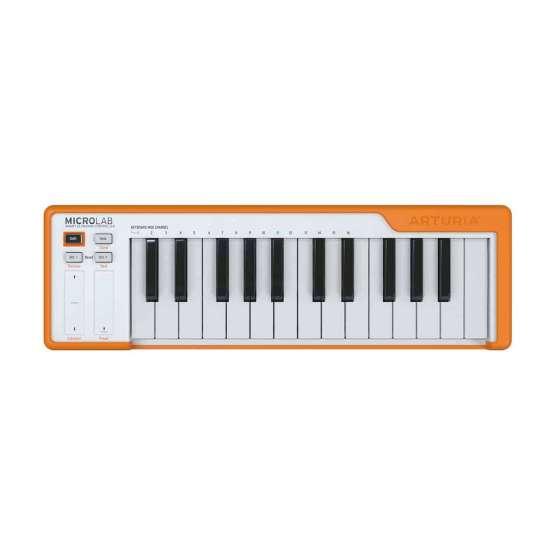 Arturia Microlab orange 555x555 Arturia MicroLab Orange