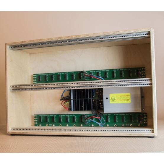Doepfer A 100LC6 PSU3 usato used front view 555x555 Doepfer A 100LC6 with PSU3 (used)