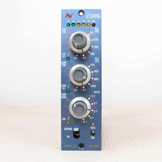 Neve 2264ALB compressor used front 555x555 Neve 2264ALB (Used)